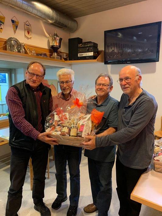 Gewinner 13. Gabi Spälty Trophy 2019 Curling Club Wetzikon: Skip Bodmer Roland, Herrmann Toni, Wyss Werner, Bieri Ruedi